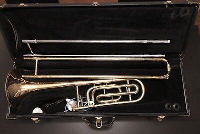 Bach Omega Trombone A29707 Serial 54184 with Case No Mouthpiece