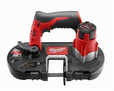 Milwaukee Cordless Sub-Compact Band Saw 12-Volt Lithium-Ion Tool-Only Dual Latch