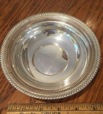 Beautiful sterling silver candy dish by Gorham