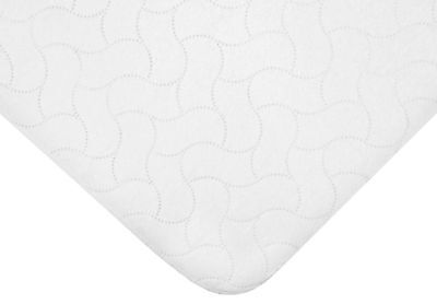 """American Baby Waterproof Quilted Mattress Pad Cover Style 2853 - 28""""x52"""""""