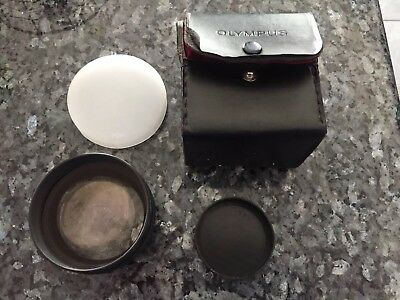 Olympus Tele Conversion Lens 1.5x VF-KL2 With Leather Case