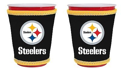(Pittsburgh Steelers) - NFL Football Team Logo New Drink Glass Cup Insulated