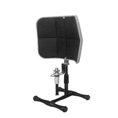 Studio Recording Microphone Desktop Isolation Shield Sound Absorber Windscreen