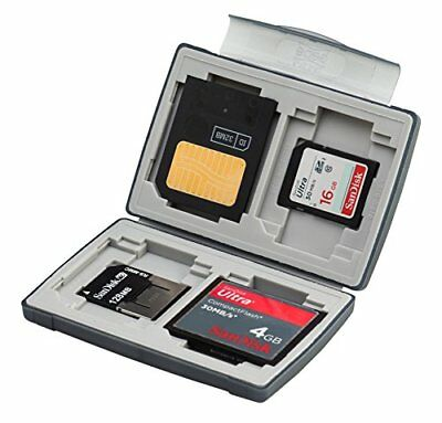 Gepe 3856E CardSafe Basic Duo for Compact Flash, SD, Smart Media, Multimedia Car