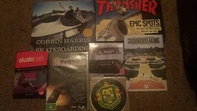 Skateboard Books And DVDS Awesome Thrasher Epic Shots