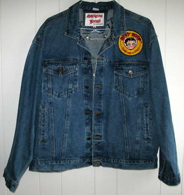 Betty Boop Denim Jacket - Size Extra Large - Beautiful Colors
