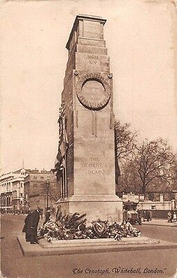 """London Whitehall The Cenotaph The Glorious """"Dead"""" memory King George memoriam"""