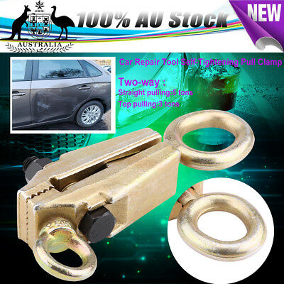2-WAY Self-Tightening Frame Back Grips & Auto Body Repair Mini Mouth Pull Clamp