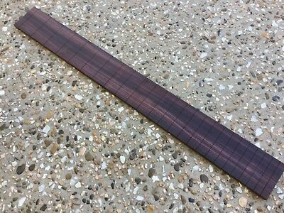 Master grade Indian Rosewood Slotted Bass Fretboard.
