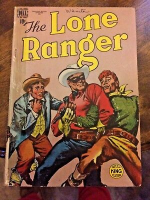 dell. The Lone Ranger this is a king feature canadian edition  september