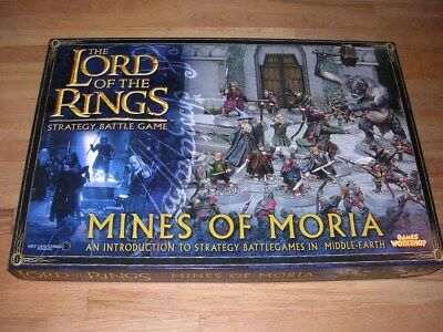 Lord of the Rings Miniatures Game Mines of Moria Games Workshop