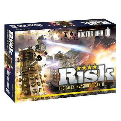 NEW Risk: Doctor Who Edition USAopoly Dalek Armies Invasion of Earth BBC Battle