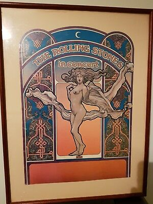 The Rolling Stones 'BYRD' tour poster (framed)
