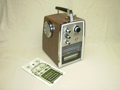 Beautiful Vintage 1970 Weltron Space Age Radio 8 Track For Car Boat Beach Home
