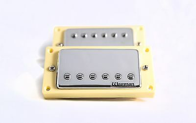 Pair of Warman Tennessee Revival Humbucking guitar pickups - 4 wire output
