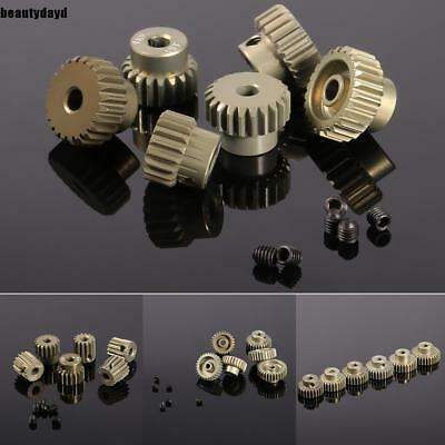 New 48DP Pinion Motor Gear Combo Set for 1/10 RC Car Brushed Brushless BD6D