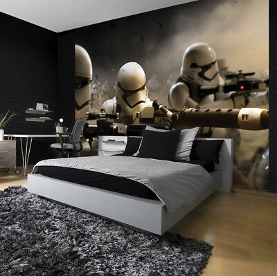 254x184cm Wall mural Wallpaper Star Wars Imperial Force Children's room photo