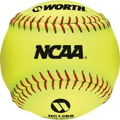 Worth NC12BB 30cm Protac NCAA Outdoor Training Ball (Pack of 12). Brand New