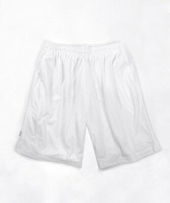 (5XL) - Pro Club Men's Shorts Comfort Mesh WHITE. Brand New