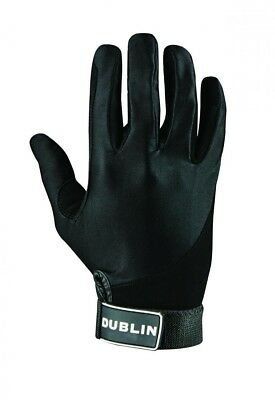 (X-Large, Black) - Dublin All Seasons Riding Gloves. Brand New