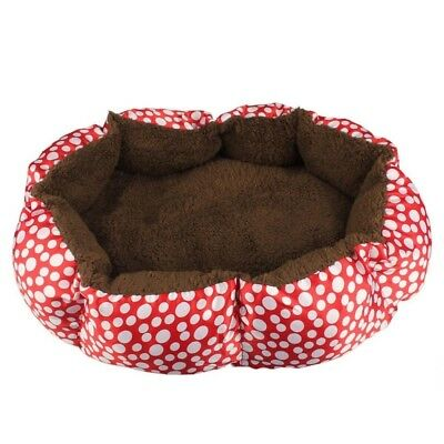 (Red) - Sumen Soft Dog Puppy Cat Warm Bed Plush Cosy Nest Mat Pad For Pet