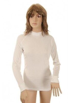 (16, White - white) - Avento Thermal Shirt Wms (long sleeves). Free Shipping