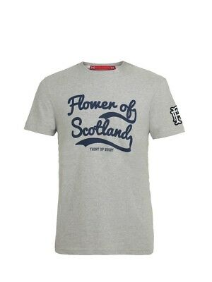 (Small, Z75 Heather) - Front Up Rugby Men's Anthem T-Shirt. Free Delivery