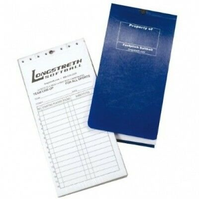 4 Part Line-up Cards with Cover. Longstreth. Delivery is Free