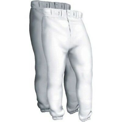 (Medium, White) - Easton Deluxe Pant Youth A164 002. Brand New
