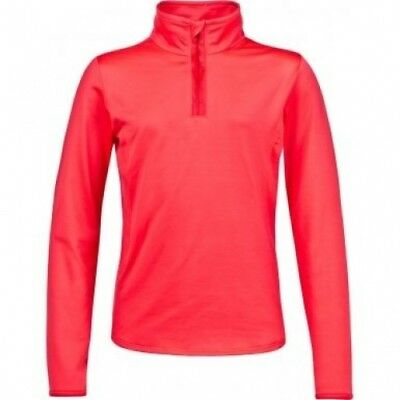 (Pink, 11-12Years) - Protest FABRIZOY JR 1/4 zip top. Free Delivery