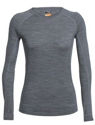 (FR : L (Taille Fabricant : L), Gritstone Heather/Snow) - Icebreaker Women's