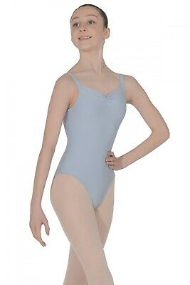 (Grey, Age 8-10) - Wear Moi Faustine Microfibre Leotard. Shipping Included