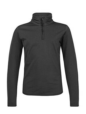 (Black, 7-8Years) - Protest FABRIZOY JR 1/4 zip top. Brand New