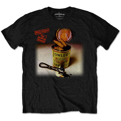 The Rolling Stones Sticky Fingers Official Merchandise T-Shirt M/L/XL - NEU