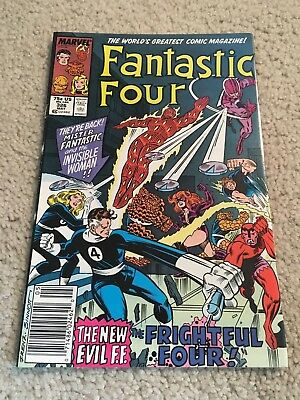 Fantastic Four  326  NM-   9.2   High Grade  Thing  Human Torch  Reed Richards
