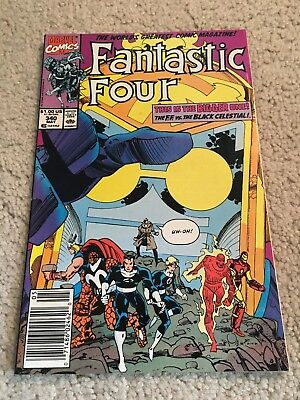 Fantastic Four  340  NM-  9.2   High Grade  Thing  Human Torch  Reed Richards