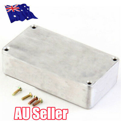 Dustproof Aluminium Electronic Hammond Diecast Stompbox Project Box Enclosure BO