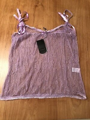 BNWOT Ted Baker Fine Lace Cami Size 3