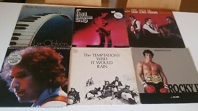 51 Lp Rock Pop Bob Dylan Rocky Bomb Party Allman Brothers Bowie Neil Young Eav