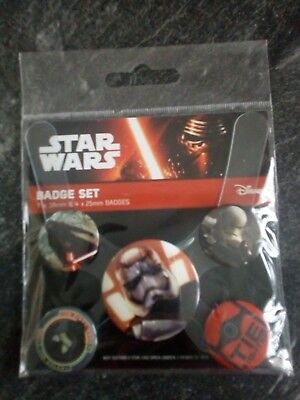 Star Wars Button set neu & ovp