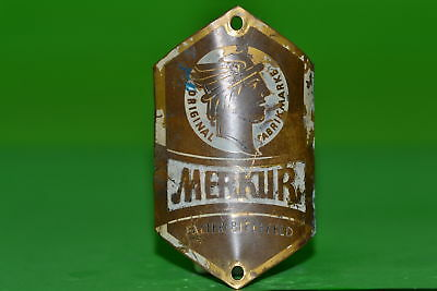 Vintage bicycle - Plaque Logo of the manufacturer-Merkur -4599