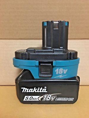 USB Converter Adapter for Makita 18V NICad NiMh Battery to Li-ion Battery NEW