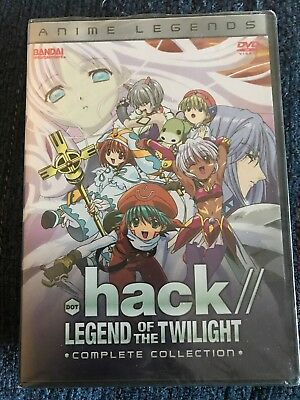 .hack Legend of the Twilight - Complete Collection (DVD, 2006, 3-Disc Set, Anime