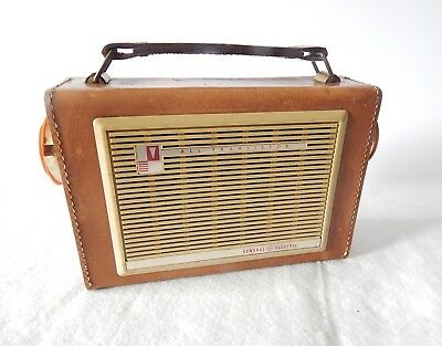 Vintage General Electric Model P-750A - All Transistor Portable Am Radio