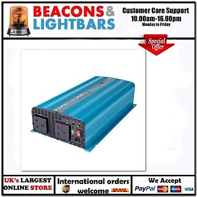 Ring Automotive 1000 Watt 12v Pure Sine Inverter JFPN: RINVP1000