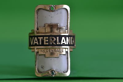 Vintage bicycle - Tablet Logo of the manufacturer-Vaterland-4603