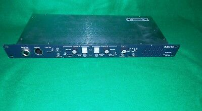 Clear-Com Intercom 2-Channel Rackmount Main Station MS-702 Excellent Condition!