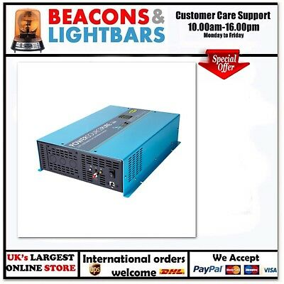 Ring Automotive 2000 Watt 12v Pure Sine Inverter c/w RCD JFPN: RINVPR2000