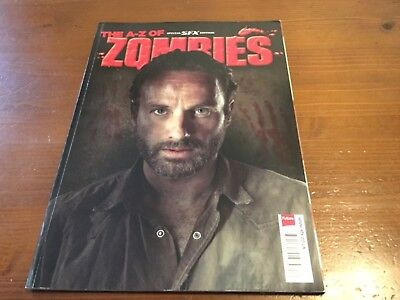 The A-Z Of Zombies Sfx Magazine Special Walking Dead Interest