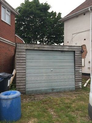 Concrete Sectional Garage Used. Buyer Collect And Dismantle